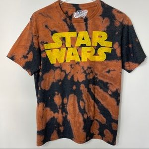 STAR WARS Bleached Dyed T-shirt